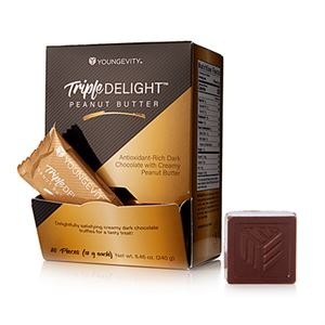 Picture of Triple Delight Peanut Butter Truffles (20ct)